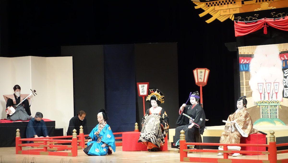 こまつ芸術劇場で上演する「お旅まつり曳山子供歌舞伎」